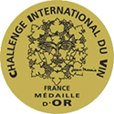 Medalla de Oro Challenge International Du Vin
