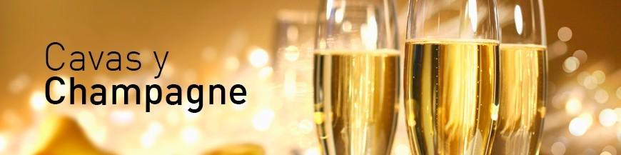 Cavas y Champagne